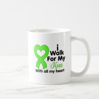 Lyme Disease I Walk For My Hero Coffee Mug