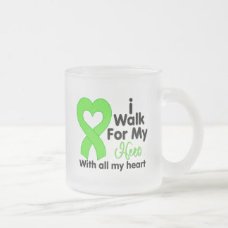 Lyme Disease I Walk For My Hero Mug