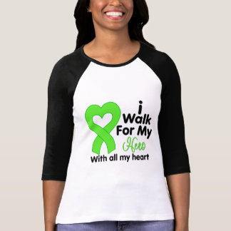 Lyme Disease I Walk For My Hero T-Shirt
