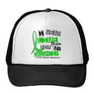 Lyme Disease I Wear Lime Green For My Daughter 37 Cap