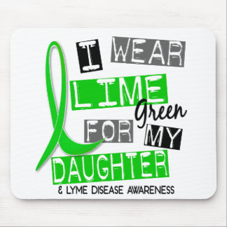 Lyme Disease I Wear Lime Green For My Daughter 37 Mouse Mat