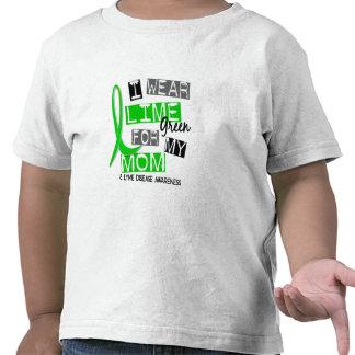 Lyme Disease I Wear Lime Green For My Mom 37 Tshirt