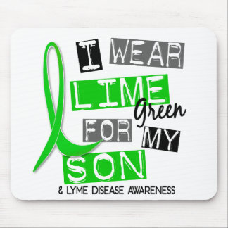 Lyme Disease I Wear Lime Green For My Son 37 Mouse Pad