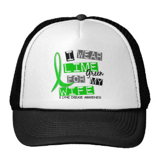 Lyme Disease I Wear Lime Green For My Wife 37 Cap