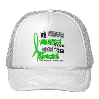 Lyme Disease I Wear Lime Green For My Wife 37 Trucker Hats
