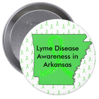 Lyme Disease in Arkansas Button