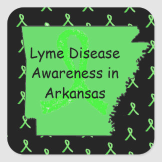 Lyme Disease in Arkansas Stickers