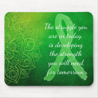 Lyme Disease Inspirational Quote Mouse Pad