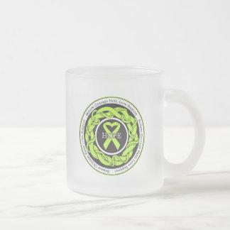 Lyme Disease Intertwined Ribbon Coffee Mug