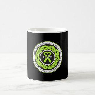 Lyme Disease Intertwined Ribbon Classic White Coffee Mug