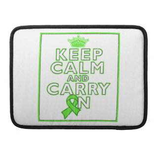 Lyme Disease Keep Calm and Carry ON Sleeve For MacBooks