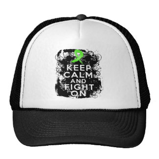 Lyme Disease Keep Calm and Fight On Mesh Hat