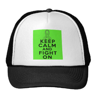 Lyme Disease Keep Calm and Fight On Mesh Hats