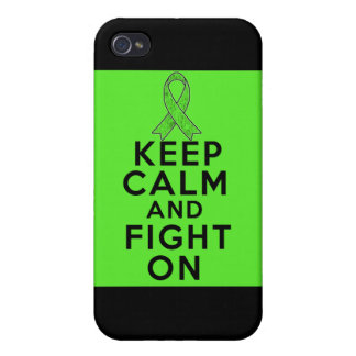 Lyme Disease Keep Calm and Fight On iPhone 4/4S Case
