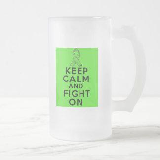 Lyme Disease Keep Calm and Fight On Coffee Mugs