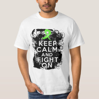 Lyme Disease Keep Calm and Fight On T-shirts