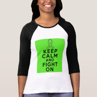 Lyme Disease Keep Calm and Fight On Tee Shirt