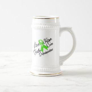 Lyme Disease Love Hope Determination Beer Steins