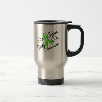 Lyme Disease Love Hope Determination Coffee Mugs