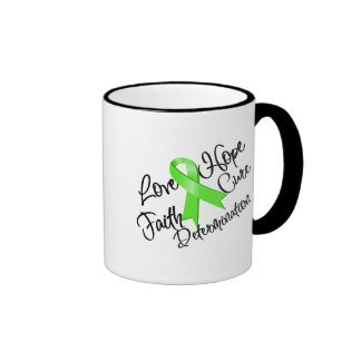 Lyme Disease Love Hope Determination Mug