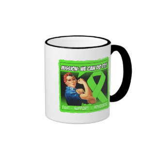 Lyme Disease Mission We Can Do It Mugs