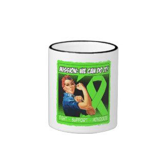 Lyme Disease Mission We Can Do It Ringer Mug