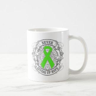 Lyme Disease Never Giving Up Hope Basic White Mug