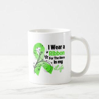 Lyme Disease Ribbon Hero in My Life Coffee Mugs