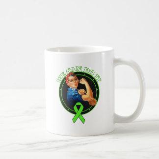 Lyme Disease - Rosie The Riveter - We Can Do It Basic White Mug