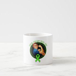 Lyme Disease - Rosie The Riveter - We Can Do It Espresso Mug