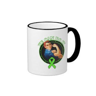 Lyme Disease - Rosie The Riveter - We Can Do It Ringer Mug