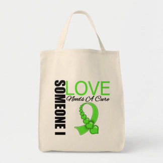 Lyme Disease Someone I Love Needs A Cure Grocery Tote Bag