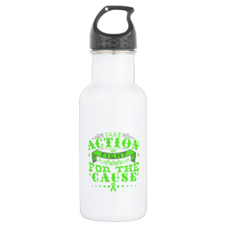 Lyme Disease Take Action Fight For The Cause 532 Ml Water Bottle