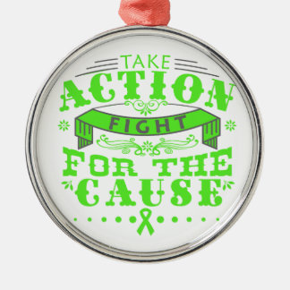 Lyme Disease Take Action Fight For The Cause Christmas Tree Ornament