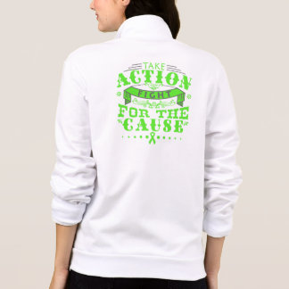 Lyme Disease Take Action Fight For The Cause Printed Jackets