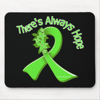 Lyme Disease There s Always Hope Floral Mouse Pad