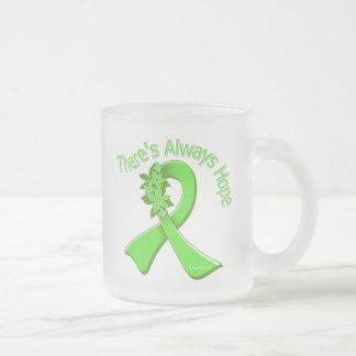 Lyme Disease There's Always Hope Floral Coffee Mug