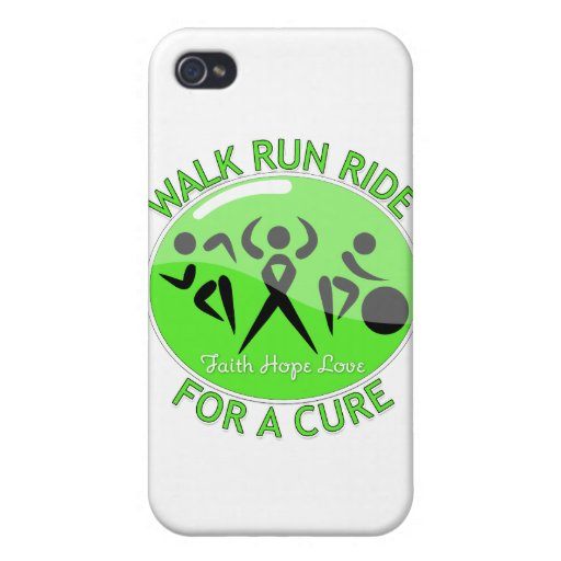 Lyme Disease Walk Run Ride For A Cure Covers For iPhone 4