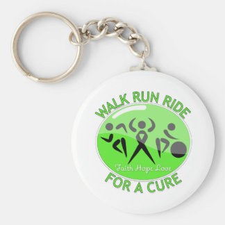 Lyme Disease Walk Run Ride For A Cure Keychain