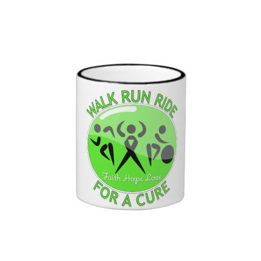 Lyme Disease Walk Run Ride For A Cure Coffee Mugs