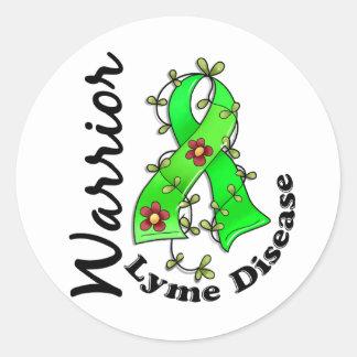 Lyme Disease Warrior 15 Sticker