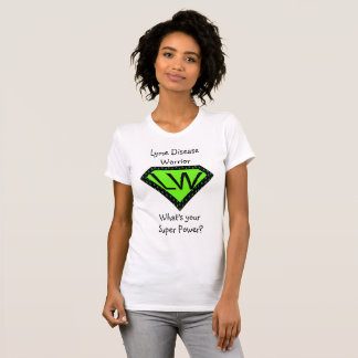 Lyme Disease Warrior Superhero Shirt