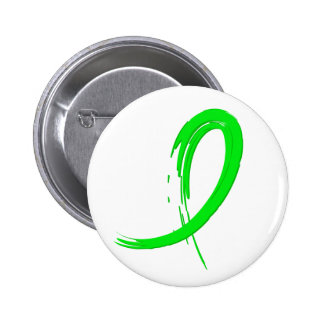 Lyme Disease's Lime Green Ribbon A4 Button