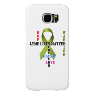 Lyme Lives Matter Galaxy S6, Barely There Samsung Galaxy S6 Cases