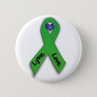 Lyme Love Button