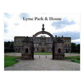 Lyme Park & House Postcard
