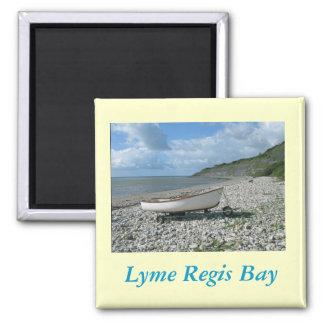 Lyme Regis Bay Square Magnet