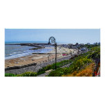 Lyme Regis Beach and the Cobb Poster