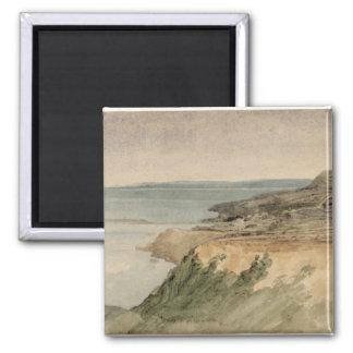 Lyme Regis, Dorset, c.1797 (w/c over pencil on tex Magnet