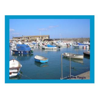 Lyme Regis, Dorset Postcard